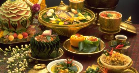 Необычная тайская кухня