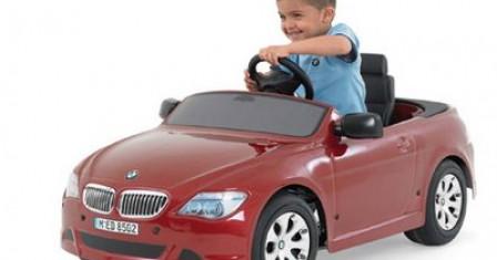 Детские аксессуары: электромобили