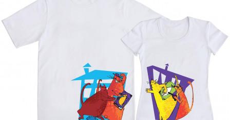 Выход в свет: футболки для двоих