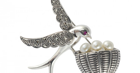 Достоинства серебренных украшений