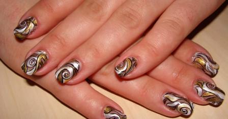 Правильный дизайн натуральных ногтей