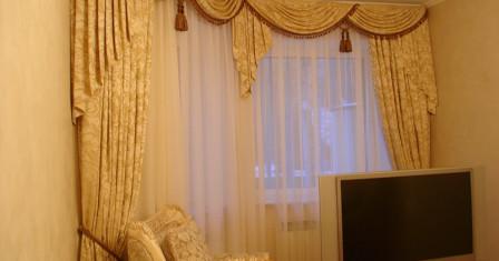 Шторы на окна: неотъемлемый элемент изысканности интерьера