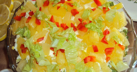 Экстравагантные и быстрые салаты: легко, комфортно  и доступно
