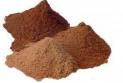 Тертое какао используется для приготовления шоколада и какао-масла