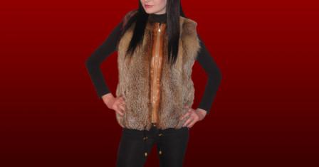 Меховые жилеты: выбираем стиль и изысканность