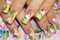 Маникюр – цветы: весеннее вдохновение