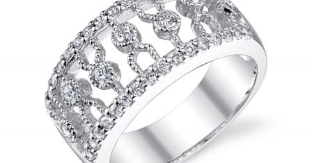 Золотое кольцо с бриллиантом – лучшее украшение женщины