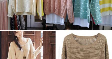 Какие кофты должны быть в гардеробе модной девушки