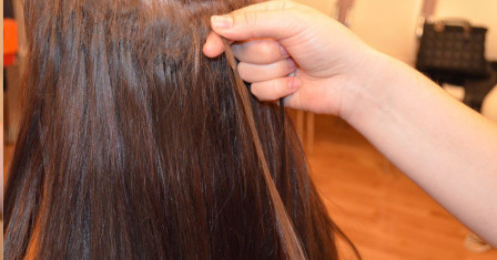 Все о наращенных волосах