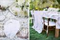Организация стильной кружевной свадьбы