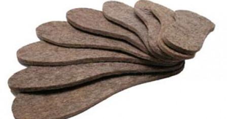 Зимние стельки для обуви