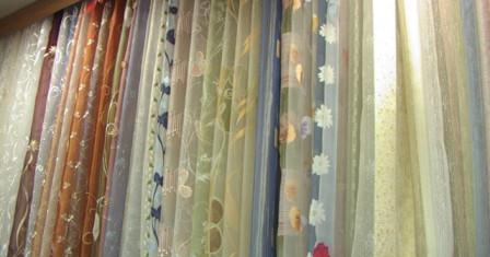 Правила выбора ткани для штор с рисунком