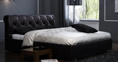 Преимущества и особенности кровати, сделанной из экокожи