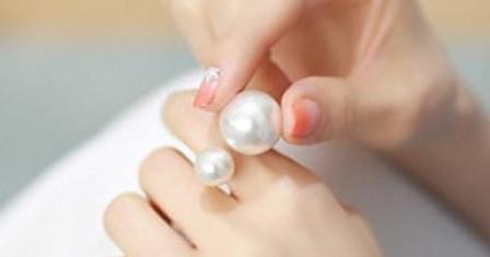 Перлы в серебре