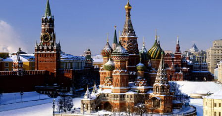 Достопримечательности Москвы: Кремль