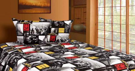 Поплиновые комплекты постельного белья