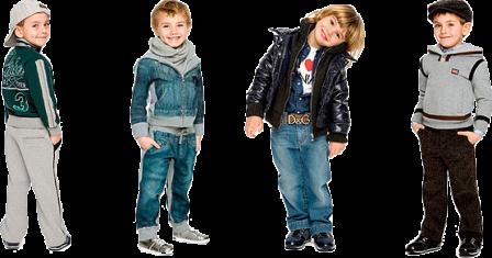 Правила выбора детской одежды