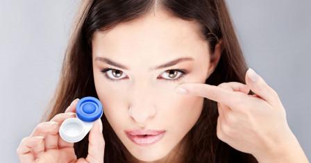 Виды контактных линз и их использование