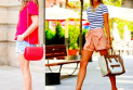 С чем носить и сочетать различные модели женских шорт