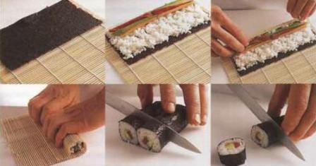 Как в Японии готовят суши?