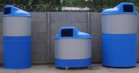 Современные контейнеры и баки для мусора
