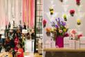 Идеи для оформления недорогими цветочными композициями