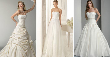 Как выбрать свадебное платье под фигуру?