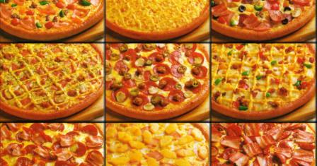 Самые популярные виды пиццы в мире