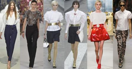 Модные тенденции в области женских блузок
