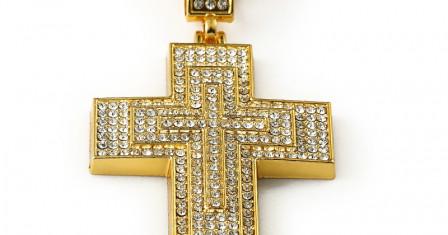 Золотой крестик — лучший подарок мужчине и женщине