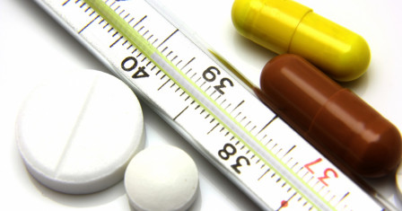Жаропонижающие средства при простуде