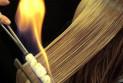 Стрижка огнем – особенность процедуры и полезный эффект