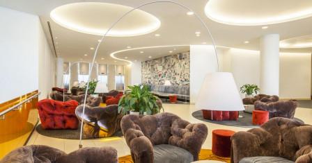 Отель Crowne Plaza St.Petersburg Airport: отлично для работы и отдыха