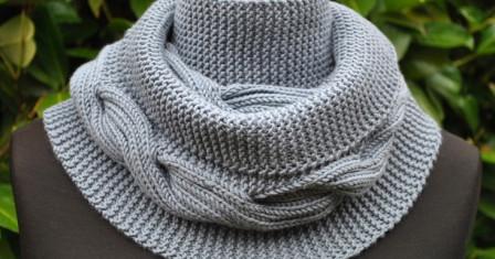 Снуд, или шарф для лентяев