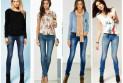 С чем носить узкие джинсы: советы для полных девушек