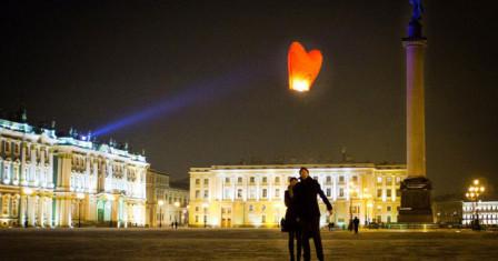 Романтичные праздники в Петербурге