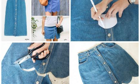 Переделываем старые джинсовые вещи в новые