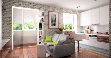 Квартира-студия – идеальный вариант для горожан