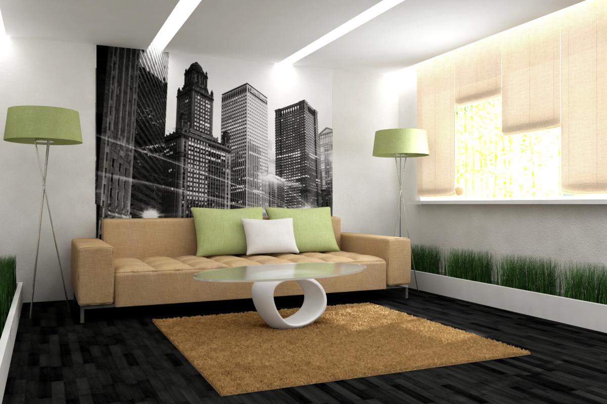 Оформление гостиной комнаты – это