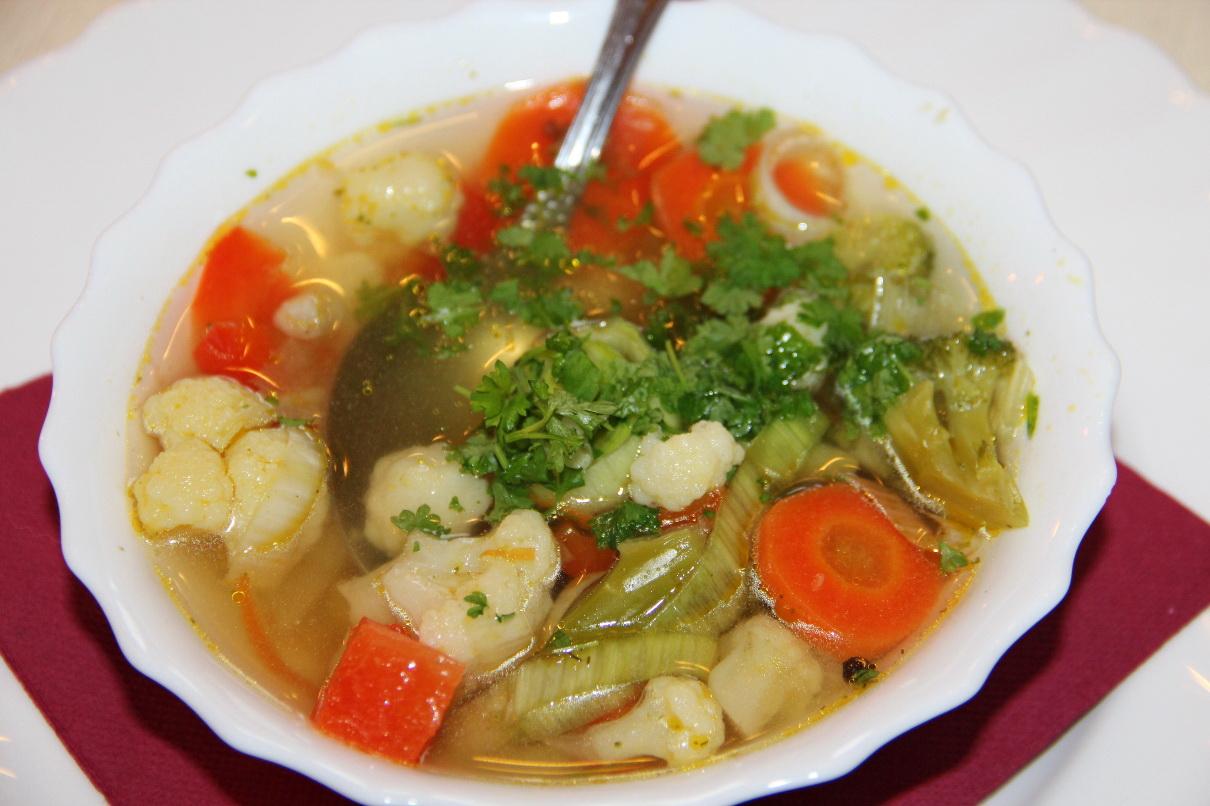 Рецепты для похудения овощные супы