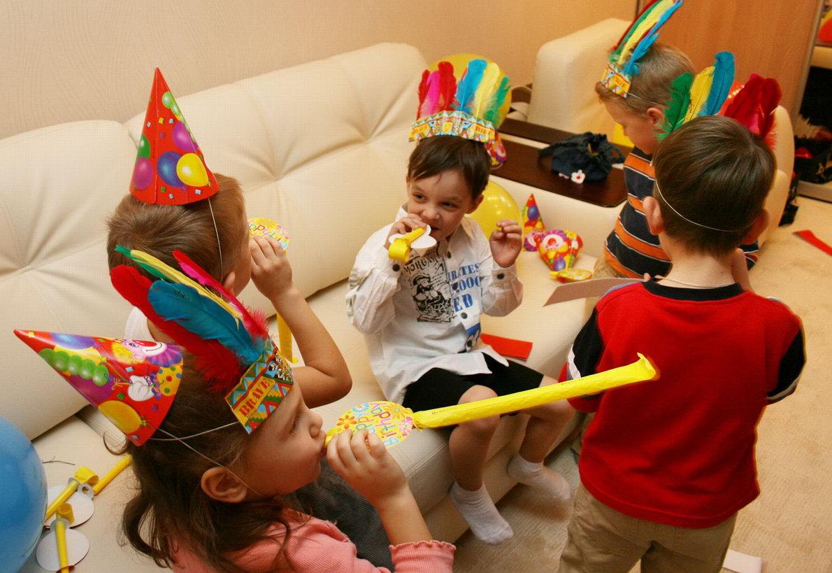 Детские праздники в домашних условиях