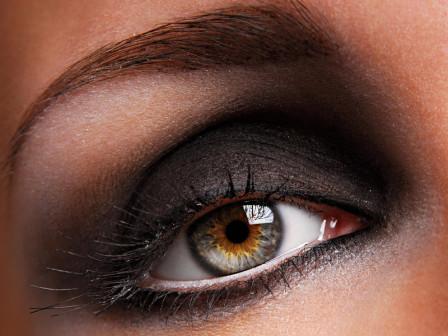 Яркий макияж для глаз