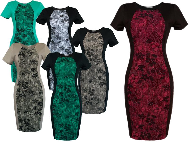 Платья визуально уменьшающие фигуру