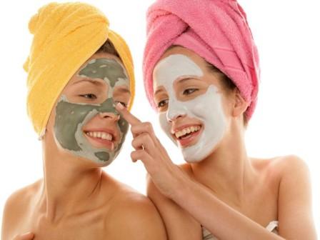 Действие глины на кожу лица