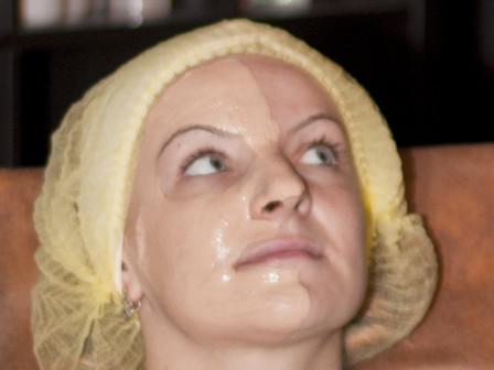 Противовосполительная маска из глины