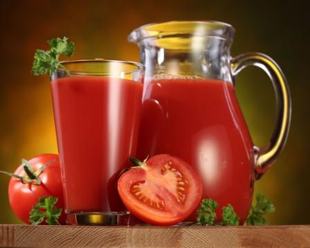 Как правильно пить томатный сок