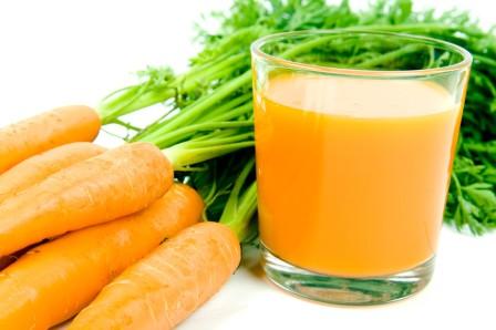 Какие свойства воздействия имеет морковный сок на организм