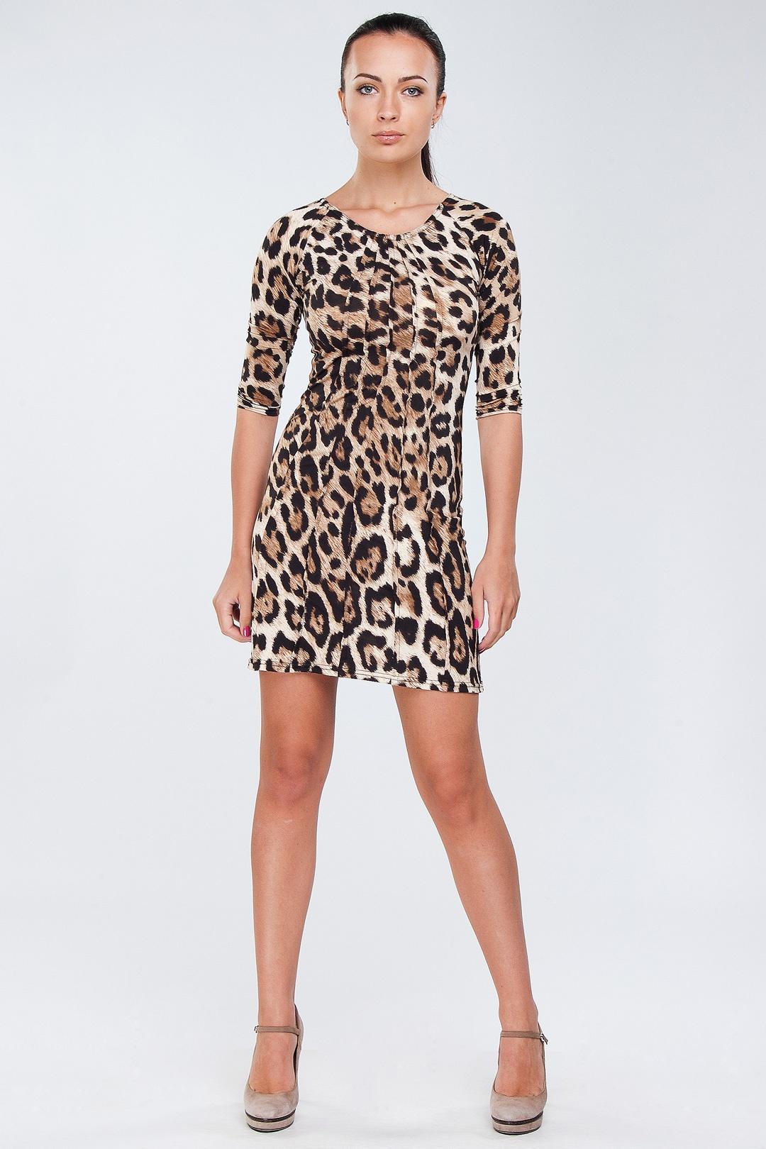 Леопардовые платья для детей фото