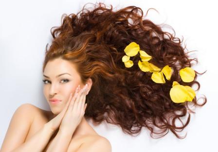 Желтковая маска для волос