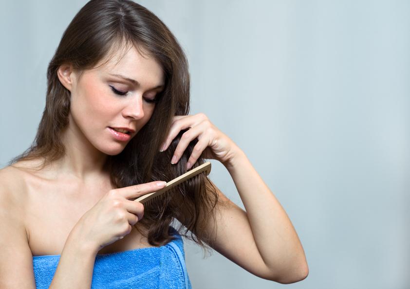 Расчесываем волосы правильно